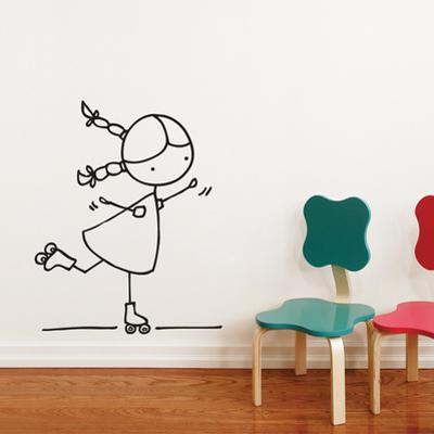 Rollersk8er Wall Decal