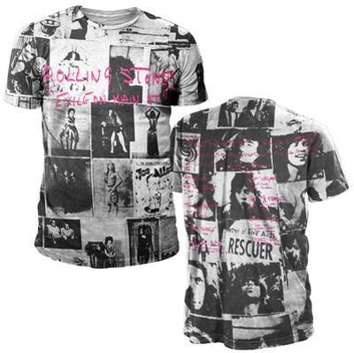 Rolling Strones- Exile All Over Print (Front/Back)