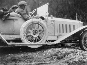 Rolls-Royce Silver Ghost in the Alpine Trial, 1913