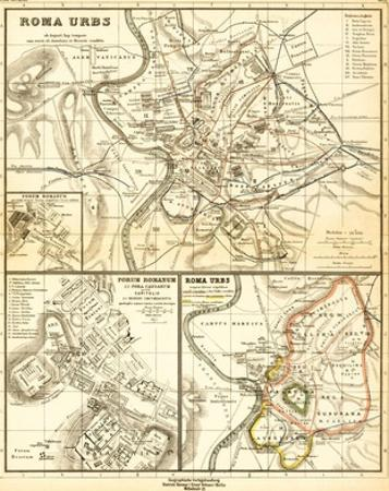Roma urbs ab Augusti Imp. Tempore cum Muris ab Aureliano et Honorio Conditis