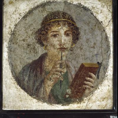 Roman Art : Sappho Portrait