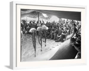 Roman Catholic and Protestant Memorial Services at Da Nang Air Base