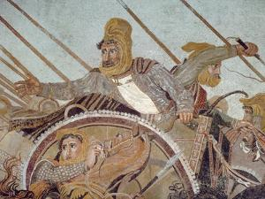 Darius Iii, from 'The Alexander Mosaic' by Roman