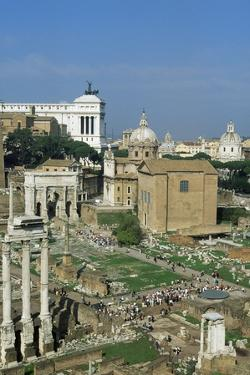 Roman Forum, Lazio, 3rd Century Bc, Rome (Unesco World Heritage List, 1980), Lazio, Italy
