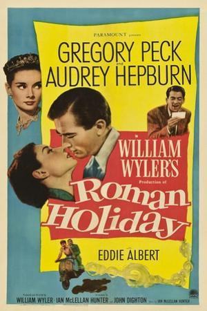 Roman Holiday, 1953, Directed by William Wyler