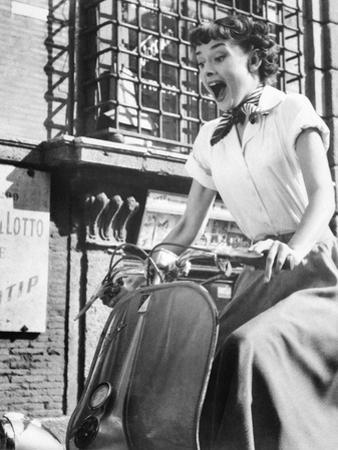 Roman Holiday, Audrey Hepburn, 1953