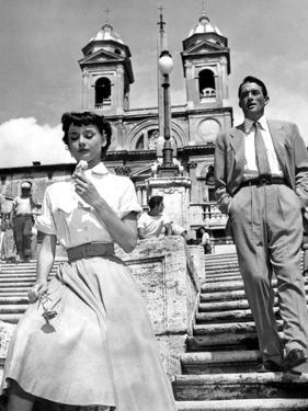 Roman Holiday, Audrey Hepburn, Gregory Peck, 1953