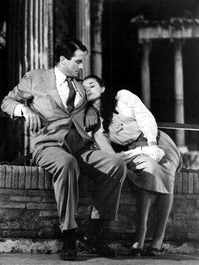 Roman Holiday, Gregory Peck, Audrey Hepburn, 1953