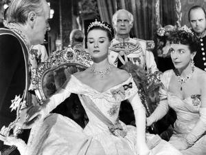 Roman Holiday, Harcourt Williams, Audrey Hepburn, Margaret Rawlings, 1953