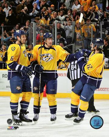 Roman Josi first NHL Goal- December 10, 2011