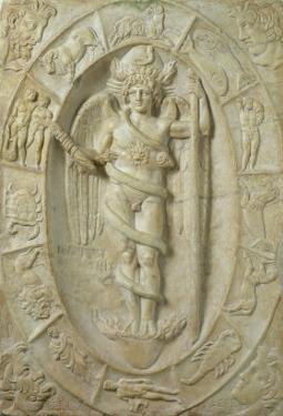 Mithraic Relief Representing a Youthful Divinity, Perhaps Aion by Roman