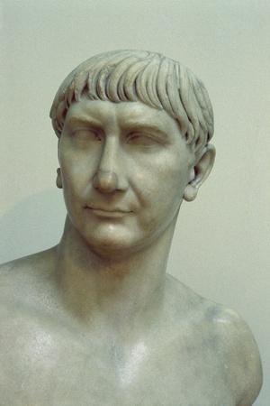 Portrait of Emperor Trajan