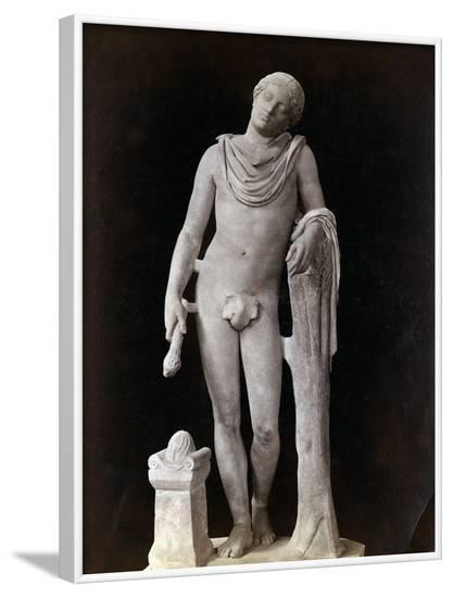 Roman Statue Representing Sleep--Framed Photographic Print