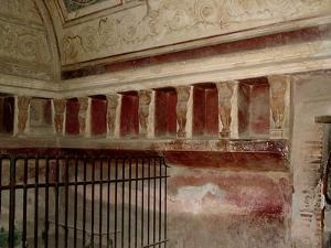 The Tepidarium of the Forum Thermae by Roman
