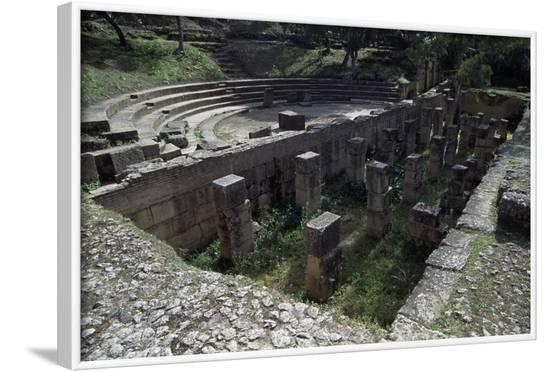 Roman Theatre, Ancient City of Tipasa--Framed Photographic Print