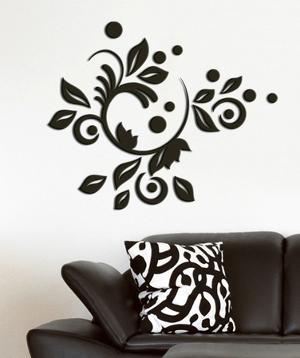 Romantic Bloom 3D Foam Wall Decals