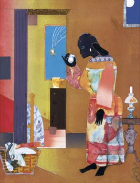 Falling Star, c.1979 by Romare Bearden