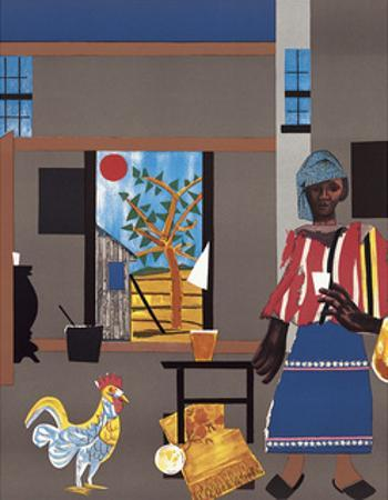Morning of the Rooster, c.1980 by Romare Bearden