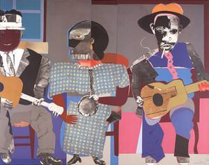 Soul Three by Romare Bearden