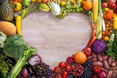 Heart Shaped Food by Romario Ien