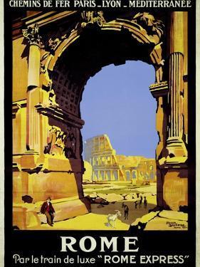 Rome Express Rome, Par le Train de Luxe