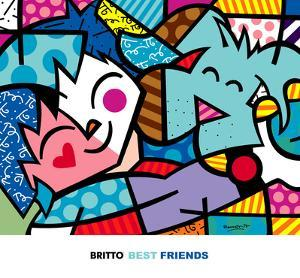 Best Friends by Romero Britto