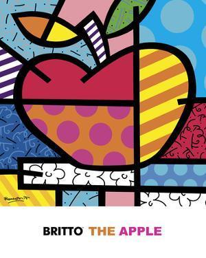 The Apple by Romero Britto