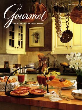 Gourmet Cover - April 1992