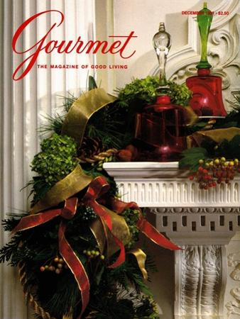 Gourmet Cover - December 1989 by Romulo Yanes