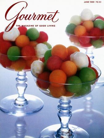 Gourmet Cover - June 1986