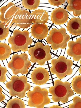Gourmet Cover - October 1991 by Romulo Yanes