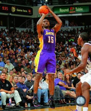 Ron Artest 2010-11 Action