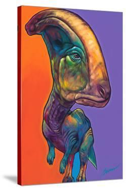 Parasauroluphus by Ron Burns