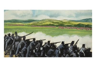 Battle of New Orleans on 8th January 1815