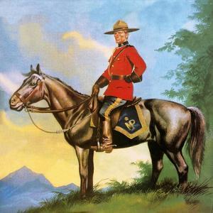 Canadian Mounty by Ron Embleton