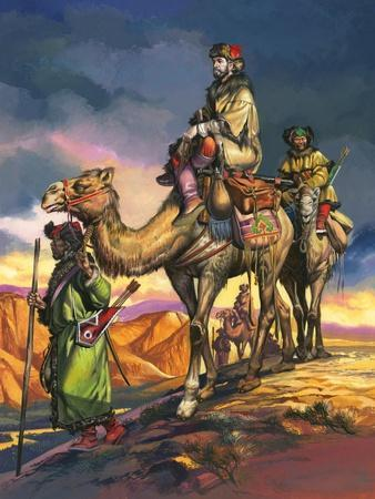 Marco Polo Crosses the Persian Deserts, from 'The Travels of Marco Polo', 1964
