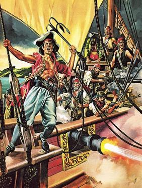 Men of the Jolly Roger by Ron Embleton