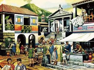 Pompei by Ron Embleton