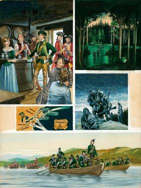 Rogers' Rangers: a New Campaign by Ron Embleton