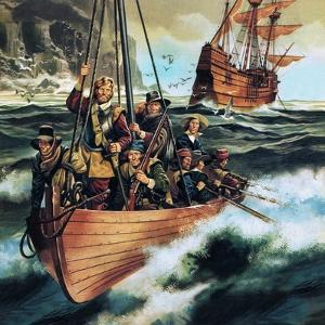 The Pilgrim Fathers: Men of the 'Mayflower' by Ron Embleton