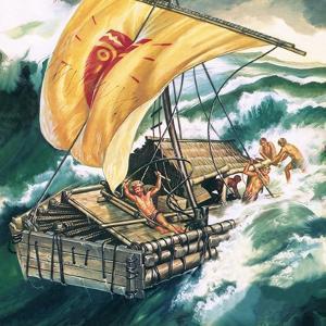 The Voyage of the Kon-Tiki by Ron Embleton
