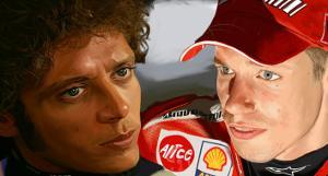 Valentino Rossi by Ron Fisher