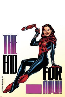 Amazing Spider-Girl No.30 Cover: Spider-Girl by Ron Frenz