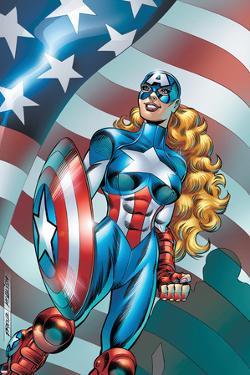 American Dream No.1 Cover: American Dream by Ron Frenz