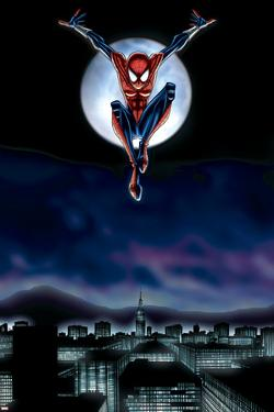 Spider-Girl No.69 Cover: Spider-Girl by Ron Frenz