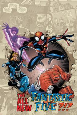 Spider-Girl No.87 Cover: Spider-Girl by Ron Frenz