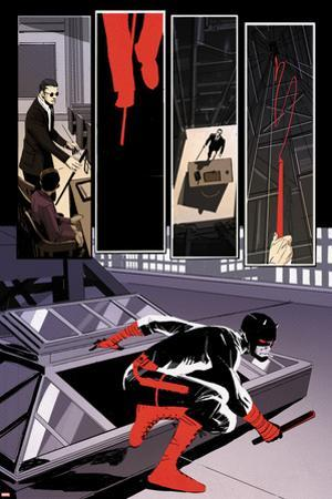 Daredevil #10 Panel Featuring Matt Murdock, Daredevil