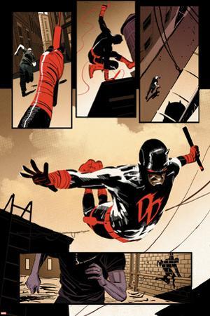 Daredevil #10 Panel