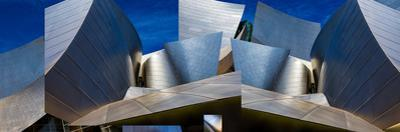 Disney Concert Hall-Montage (Color Version) by Ron Jones