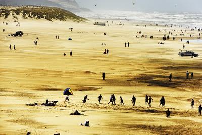 Bustling Beach